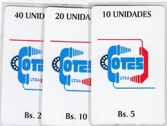 Bolivia Cotes Test Set  #1