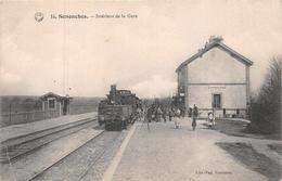 SENONCHES  -  Interieur De La GARE ( Beau Plan TRAIN ) - France