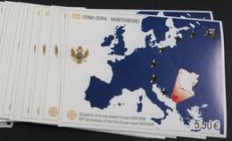Monténégro 2006 Yvertn° Bloc 3 *** MNH  10 Ex. Cote 250,00 Euro 50 Ans Europa 50 Jaar - Montenegro