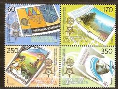 Macedonie Macédoine 2005 Yvertn° 362-365 *** MNH  Cote 50,00 Euro 50 Ans Europa 50 Jaar - Macédoine