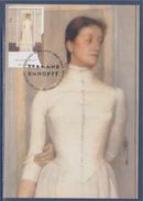 Portrait De Marguerite Khnopff Par Fernand Khnopff Carte Bruxelles 17.1.2004 - Maximum Cards