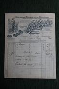Facture Ancienne - BRIVE - L.MARTINI , Atelier De Moulage Et De Sculpture - France