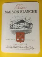 2967 - Suisse Vaud  Riex Maison Blanche - Etiquettes