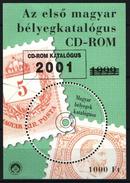 Hungary 2001. CD Room Spec. Overprint Commemorative Sheet Pair / Special Cat. !!! MNH (**) - Feuillets Souvenir