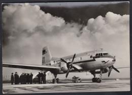 Mittelstreckenflugzeug IL 14, Auf Rollfel, Lufthansa Der DDR 1957 - 1946-....: Moderne