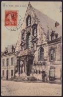 "F-EX.2099 FRANCE FRANCIA DIJON POSTCARD FRAQUICIE MILITAR ""FM"" TO CUBA. 1912. 25 - Franchise Stamps"