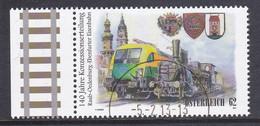 Austria 2012 Mi-Nr. 3032, 140 Jahre Raab-Ödenburgerbahn, Gestempelt Siehe Scan - 2011-... Afgestempeld