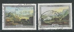 Liechtenstein, Mi 1448 + 1450  Jaar 2007,   Gestempeld, Zie Scan