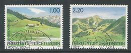 Liechtenstein, Mi 1451 + 1453  Jaar 2007,   Gestempeld, Zie Scan