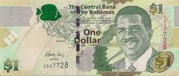 BAHAMAS=2008   1 DOLLAR  P-71    UNC - Bahamas