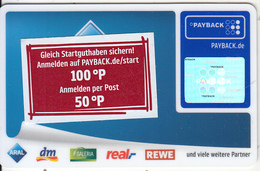 GERMANY - Payback Magnetic Card, Unused - Unclassified