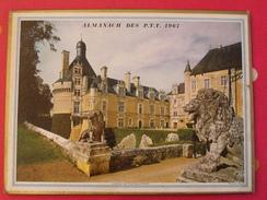 Almanach Des PTT. 1967. Le Mans Sarthe. Calendrier Poste, Postes Télégraphes..collioure, Chateau De Touffou - Calendriers