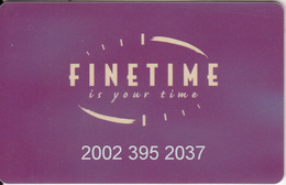 UK - Finetime, Little Chef Restaurants, Magnetic Member Card, Used