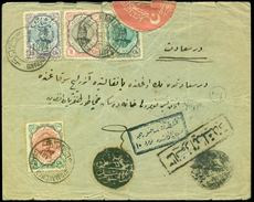 PERSIA TO TURKEY-COVER-1916-OTTOMAN EMPIRE- - Stamps
