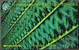 Tonga - TON-04, GPT, Green 5T$, 15,000ex, 1994, Used - Tonga
