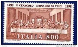 PIA -  ITALIA -  1998  :  Il Cenacolo Di Leonardo Da Vinci -   (SAS  2336) - 6. 1946-.. Republic