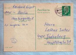 Ganzsache - 25-10-73 - DDR (Berlin) - 10 Pfg. Berlin Stempel - Postales - Usados