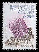 FSAT/TAAF 2010 Single: Mineral, Tourmaline #422 - Nuevos