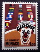 MONACO # 1087. 1fr, 4th Internationmal Circus Festival. MNH (**) - Unused Stamps