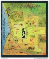 Angola 1991 Angola Tourism Map New 0730 Stamp Sheetlet 1M - Angola