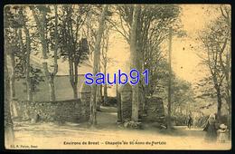 Environs De Brest - Chapelle De St Anne Du Portzic - Animée - Réf:34116 - Brest