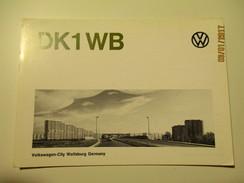 GERMANY VOLKSWAGEN CITY WOLFSBURG , QSL , O - Passenger Cars