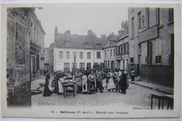 Béthune (62 Pas-de-Calais), Le Marché Aux Poissons. - Bethune