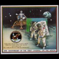 COOK IS. 1989 - Scott# 1011 S/S Moon Landing MNH - Cook Islands
