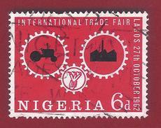 1962 - Wheels Of Industry - Mi:NG 126 - Used - Nigeria (1961-...)