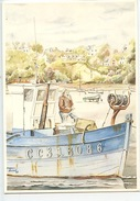 Yvan Roussel : Le Pêcheur (aquarelle N°1526 Diana Vierge) - Fishing