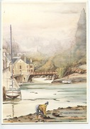 Yvan Roussel : Les Coquillages (aquarelle N°1503 Diana Vierge) - Fishing