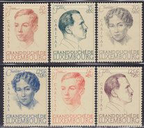 Luxembourg 1939 Caritas - Thick Paper, MNH (**) Michel 333-338 - Luxembourg