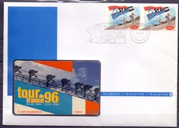 Nederland - 1996 ** Tour De France -  'S - Hertogenbosch -------------- Parijs - 3835 Km ** Ongebruikt - Sport