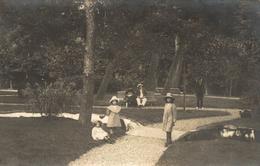 LAMALOU  TRES BELLE CARTE PHOTO DE 1912 - Lamalou Les Bains