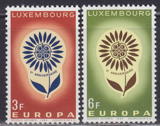 Luxembourg 1964 Europa CEPT, MNH (**) Michel 697-698 - Luxembourg