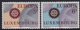 Luxembourg 1967 Europa CEPT, MNH (**) Michel 748-749 - Luxembourg