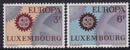 Luxembourg 1967 Europa CEPT, MNH (**) Michel 748-749 - Neufs