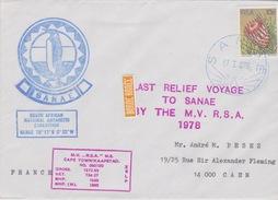 SANAE  RSA   17-1-1978 - Timbres