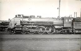 LOCOMOTIVE  N°231-605 PO Midi Tours (ancien Retirage Photo,format Carte Ancienne) - Trains