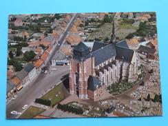 St. Dimpnakerk ( Luchtopname ) Anno 19?? ( Details Zie Foto´s ) ! - Geel