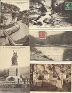LOT DE 44 CARTES POSTALES ANCIENNES DE BELLEGARDE (AIN). - Bellegarde-sur-Valserine