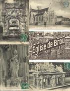 LOT DE 323 CARTES POSTALES ANCIENNES DE L'EGLISE DE BROU (AIN). - Eglise De Brou