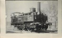 LOCOMOTIVE  N°30-700 (ancien Retirage Photo,format Carte Ancienne) - Trains