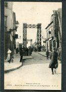 CPA - Guerre 1914-15 - CREIL - Entrée Du Nouveau Pont Rue De La République, Animé - Guerre 1914-18
