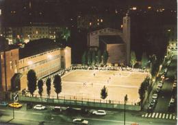 MILANO Quartiere Pezzotti - Campo Sportivo Di Calcio - Torneo Serale Ai 4 Eva, Con Auto D'epoca - Football