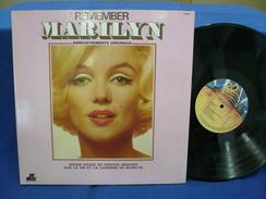 "Marilyn Monroe""33t Vinyle""Remember Marilyn"" - Disco, Pop"