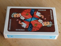 AMBASSADEUR Cusenier - Jeu De Carte - 54 Cartes