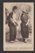 DF / HUMOUR / SERIE AUVERGNE / RECOMMANDATION A L'AUVERGNAT QUI MONTE À PARIS / CIRCULÉE EN 1935 - Humor