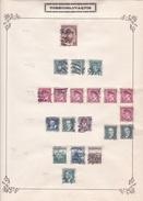 Tchécoslovaquie - Collection Vendue Page Par Page - Timbres Oblitérés / Neufs *(avec Charnière) -Qualité B/TB - Oblitérés