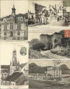 LOT DE 49 CARTES POSTALES ANCIENNES DE CHATEAU THIERRY (02). - Chateau Thierry